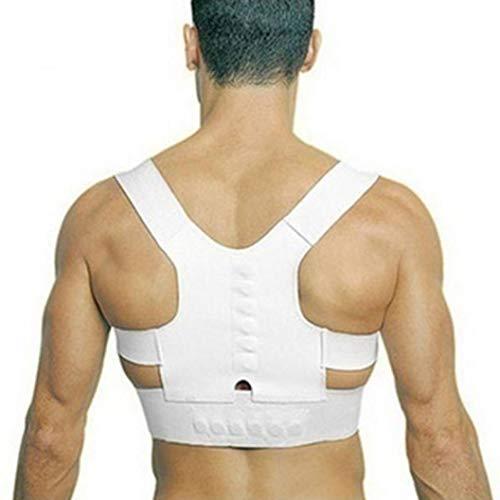 (Adjustable Back Treatment Shoulder Magnetic Posture Corrector Girl Student Child Male Female Magnet Support)