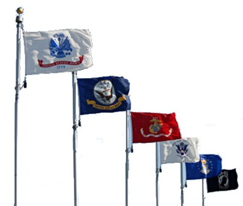 Wholesale Lot 5 Branches Military Set and Pow Mia 2×3 2'x3′ Polyester Flags For Sale