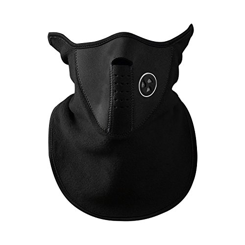 Short type Thin Wool Half Face Mask, Cold Weather Neck Warmer / Outdoor Sports Mask for Motorcycles, Bicycle, Skiing, Running, Mountain Climbing - Unisex Dustproof & Windproof Half Face Mask, - Types Face Women