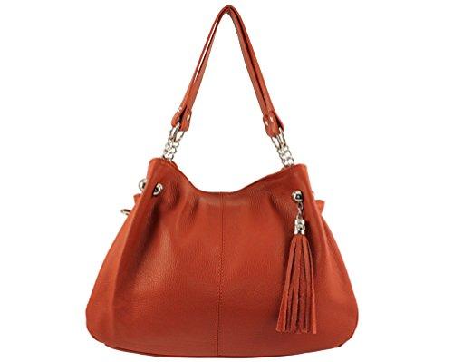 Sac Coloris main à Paris Orange cuir paris cuir cuir Plusieurs main sac femme sac paris Italie cuir paris a a femme sac main sac sac main sac a sac cuir Foncé paris rYZrq