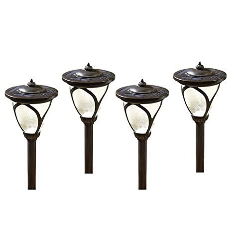 Allen roth 4 pack high output 6x brighter solar led landscape allen roth 4 pack high output 6x brighter solar led landscape lights aloadofball Images