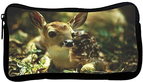 Rikki Knight Fawn Deer Design Neoprene Pencil Case (pc379)