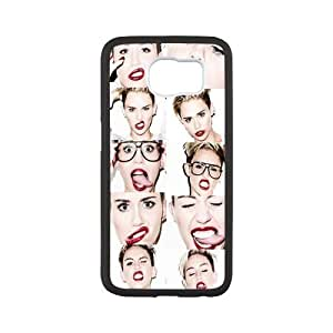Custom Miley Cyrus TPU Cases Protector Snap On Cover For Galaxy S6 G9200, Samsung Galaxy S6 Case by runtopwell
