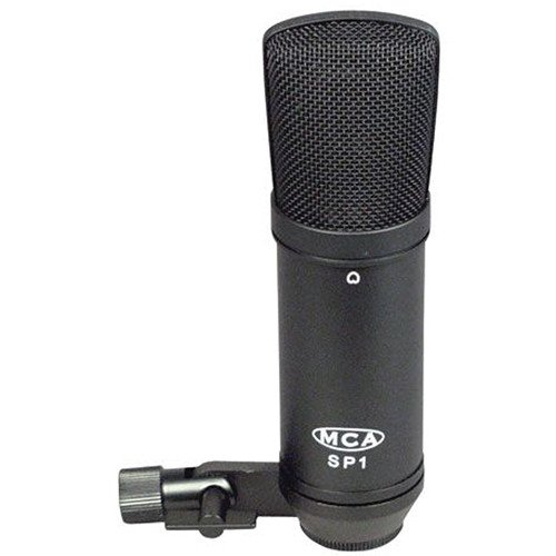 MXL MCA-SP1 Studio Condenser Microphone (Black)