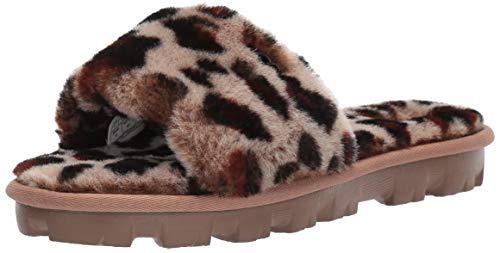 Ugg Belle Slippers - UGG Women's COZETTE Leopard Slipper, Amphora,