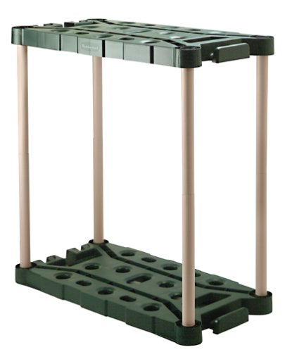Rubbermaid Long-Handle Tool Storage Unit (FG709218MICHR) - Storage Unit Assembly