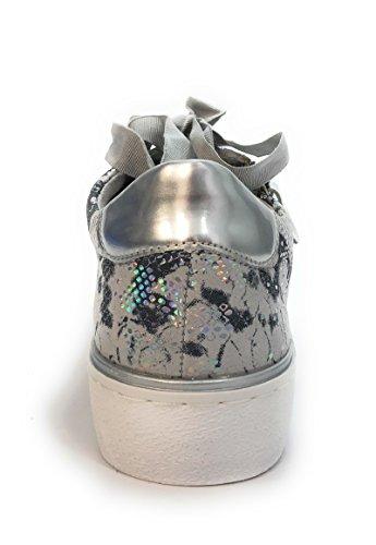Baskets Semelle Femme Remonte Oui Amovible Mode Gris R5501 CAxnq5