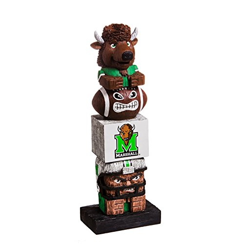 Marshall University - Team Sports America Marshall University Tiki Team Totem Garden Statue