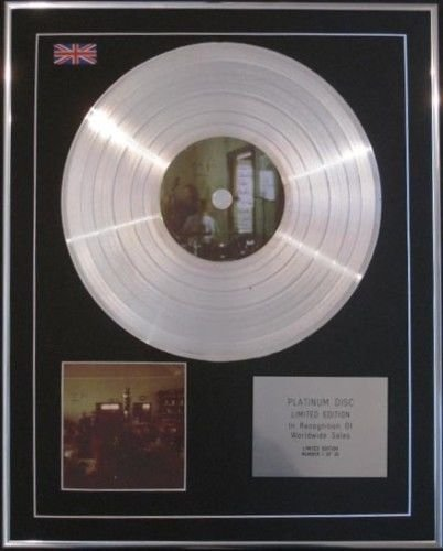 (SIGUR ROS - Limited Edition CD Platinum Disc - HEIM)