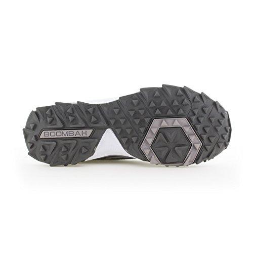 Scarpe Turf Da Uomo Turbo Boombah - 20 Opzioni Di Colore - Più Dimensioni Grigio / Antracite