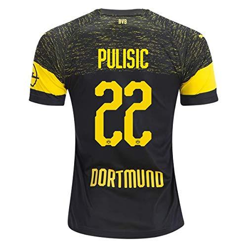 b153d5b60248 North-V PULISIC Borussia Dortmund 2018-2019 Away Jersey Men s Color Black  Size L