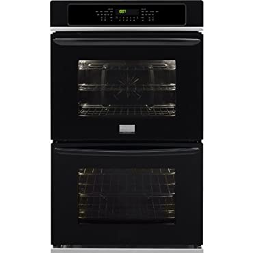 Frigidaire FGET3065PBGallery 30 Black Electric Double Wall Oven Convection