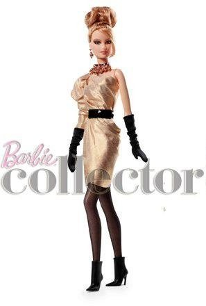 2012 Barbie Rush of Rose Gold BFC Member Exclusive Sold Out Platinum Label