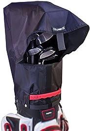 Seaforth Rain Gear SeaForth Waterproof Rain Hood Cover for Golf Bags, Black