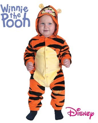Winnie The Pooh Monitor Baby (Tigger Costume - Baby 12-18)