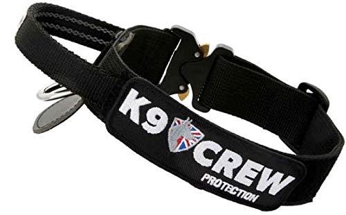 Medium K9 CREW VIPER Collar COBRA Clip (With Handle, Medium)