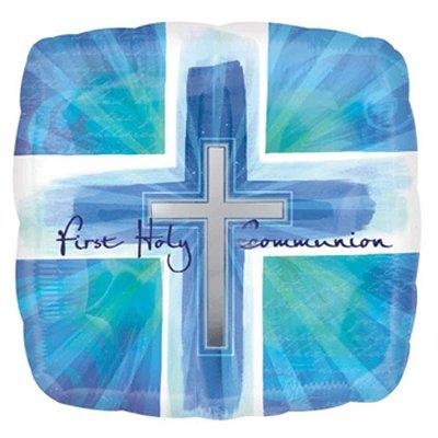 Anagram 18 Inch Joyous Cross Communion Blue Verses -