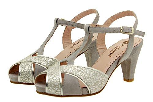 Pumps Breit 8258 Komfort Bequem Schuhe PieSanto Damenlederschuh Sandale UExfd0nfAw