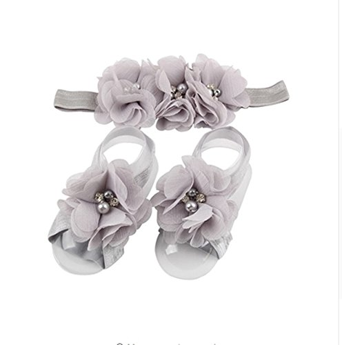 Bear Fashion Baby Girls Rose Headband Head Wrap Knotted Hair Band - 8