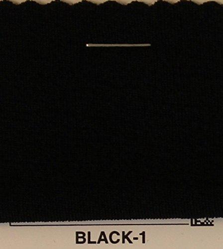 4-Way Stretch Slinky Jersey Knit Fabric - BLACK