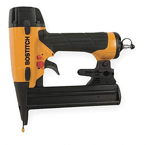 Bostitch Air Finishing Stapler with Rear Exhaust, Pressure R
