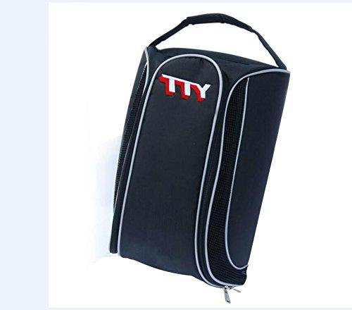 yuekuantai- 1pcs Large Zipper Space Saver Gym Sport Sock Organizer Golf Shoe's Bag by yuekuantai