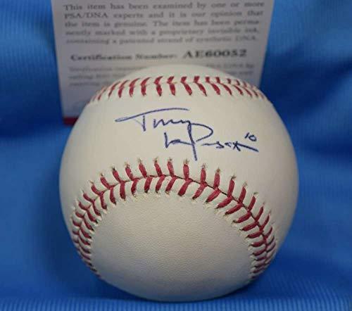 TONY LARUSSA PSA DNA Coa Autograph Major League OML Hand Signed Baseball