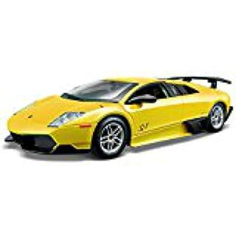 Bburago Lamborghini Murcielago Coche De Juguete Color Amarillo 18