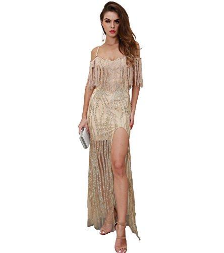 Kleid Gold Cocktail Missord Missord Gold Kleid Cocktail Damen Damen wCZn5WqxW