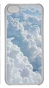 iPhone 5c Case Unique Cool iPhone 5c PC Transparent Cases Dark Clouds Design Your Own iPhone 5c Case