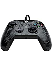 PDP Wired Controller for Xbox One Blue Camo, Xbox One 048-082-NA-CM00