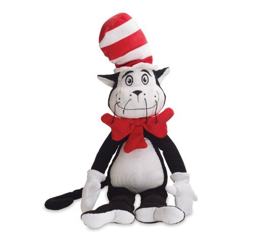 Dr. Seuss The Cat in The Hat Cordy Toy [並行輸入品]   B073ZJQX88