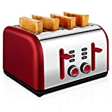 Best Slot Toasters - 4 Slice Toaster, CUSIBOX Four Wide Slots Toaster Review