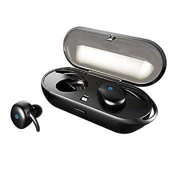 Bluetoothイヤホン Moniko 完全ワイヤレスイヤホン 片耳 両耳対応 IPX5防水防滴 ノイズキャンセ