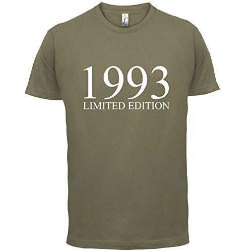 1993 Limierte Auflage / Limited Edition - 24. Geburtstag - Herren T-Shirt - Khaki - XXL