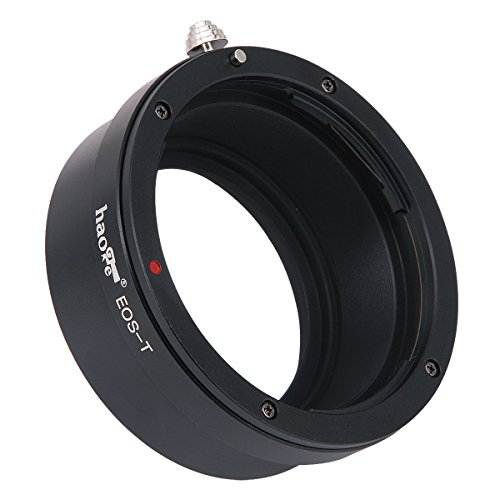 Leica Canon Eos - Haoge Manual Lens Mount Adapter for Canon EOS EF EFS Lens to Leica L Mount Camera such as T, Typ 701, Typ701, TL, TL2, CL (2017), SL, Typ 601, Typ601