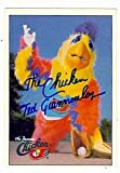 Ted Giannoulas autographed baseball card (The San Diego Chicken) inscribed'The Chicken' 1984 Donruss #651