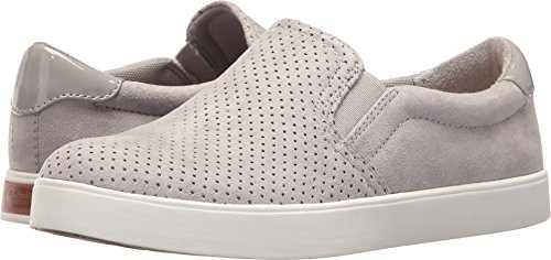 Dr. Scholl's Shoes Women's Madison Sneaker, Grey Cloud Microfiber Perforated, 8.5 M US
