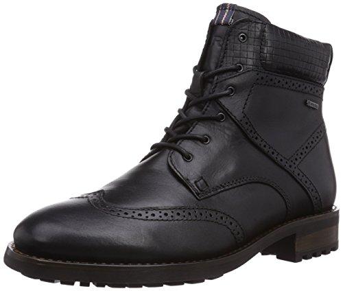 Boots 100 Marc Herren Kent Schwarz Combat Shoes Black R6qOIwqU