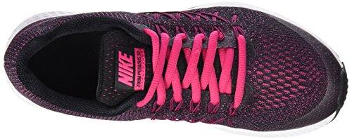 Nike Zoom Pegasus 32 (GS) - Zapatillas de running, Niñas Negro (Black / Vivid Pink-White)