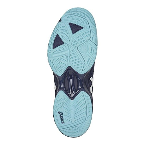 Asics Womens Vitesse Gel-solution 3 Chaussure De Tennis Indigo Bleu / Blanc / Bleu De Porcelaine