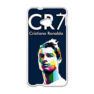 Custom CR7 Football Player Cristiano Ronald Case Cover for HTC One M7