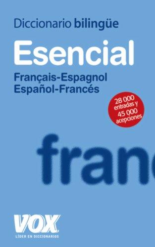 Descargar Libro Diccionario Esencial Français-espagnol / Español-francés Aa.vv.