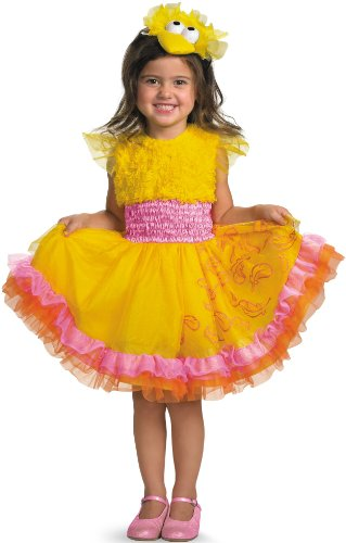 Frilly Big Bird Costume - Medium (3T-4T) ()
