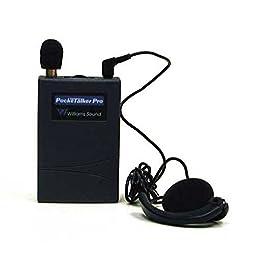 Williams Sound PockeTalker Pro Personal Sound Amplifier w/ Wide Range Earphone