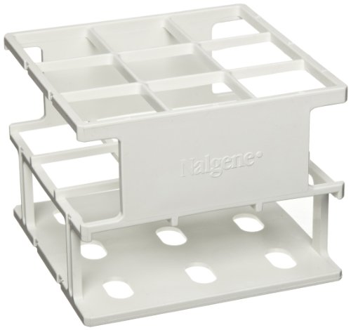 - Nalgene 5972-0030 Acetal Plastic Unwire Test Tube Half Rack for 30mm Test Tubes, White