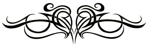 """Retour cardiaque plus faible Body Art Tatouages temporaires 2 """"x 6"""""""