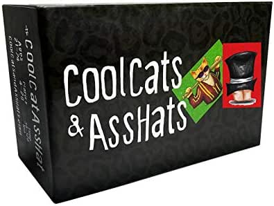 CoolCats & AssHats - The Funnest Adult Party / Card Game