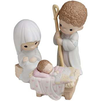 Amazoncom Precious Moments Come Let Us Adore Him 9 Piece