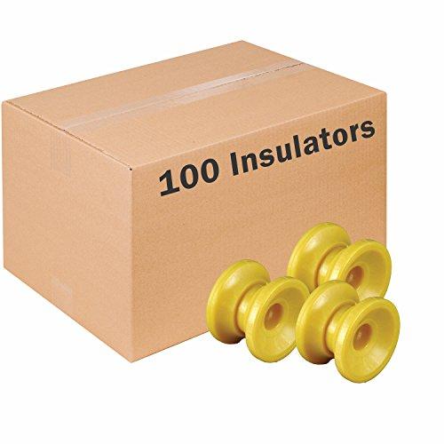 Cheap Zareba Systems ICDY-Z Donut Corner Insulator, 10 Bags